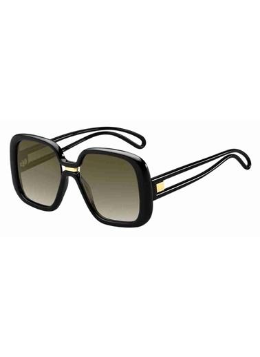 Givenchy Givenchy Gv 7106/S 807 55 Ekartman Kadın Güneş Gözlüğü Siyah